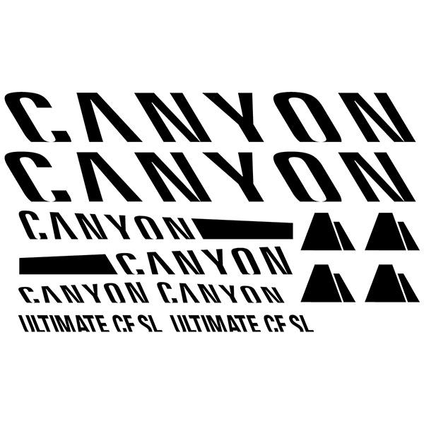 Adesivi per Auto e Moto: Moto Kit Canyon Ultimate