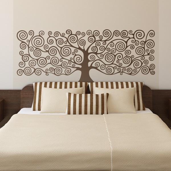 Stickers murali adesivi murali fotomurali - Stickers testata letto ...