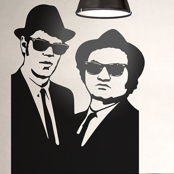 Adesivi Murali: Blues Brothers 2