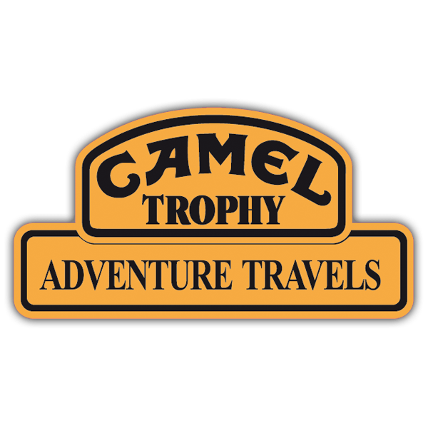 Adesivi per Auto e Moto: Camel Adventure Travels