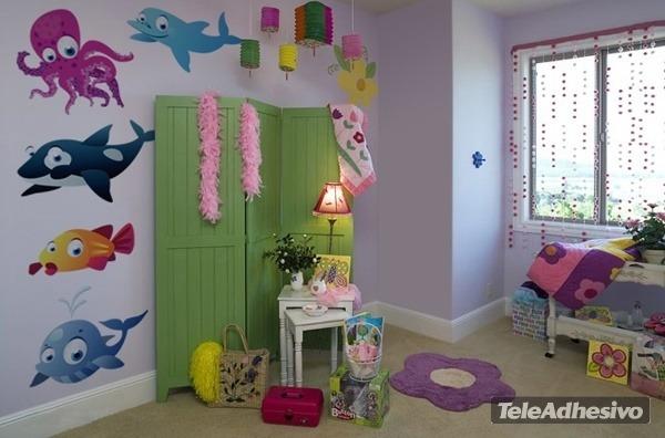 Stickers Cameretta Disney : Adesivi per camerette bambini disney decorazioni adesive mini