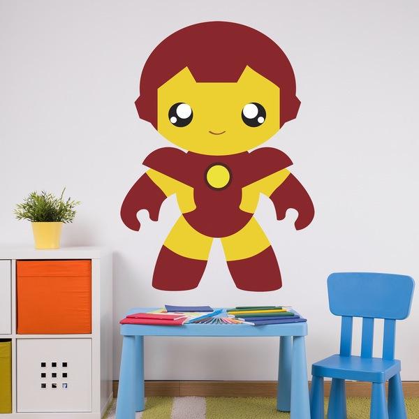 servizio eccellente vende super popolare Adesivo Murale Per Bambini Uomo acciaio