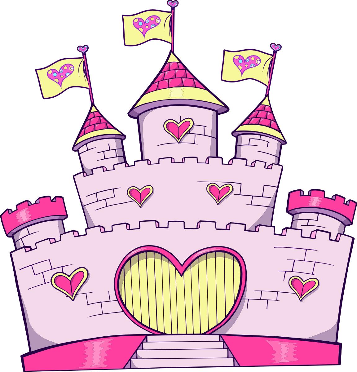 Adesivi per bambini castello 2 - Castillos para ninos de infantil ...