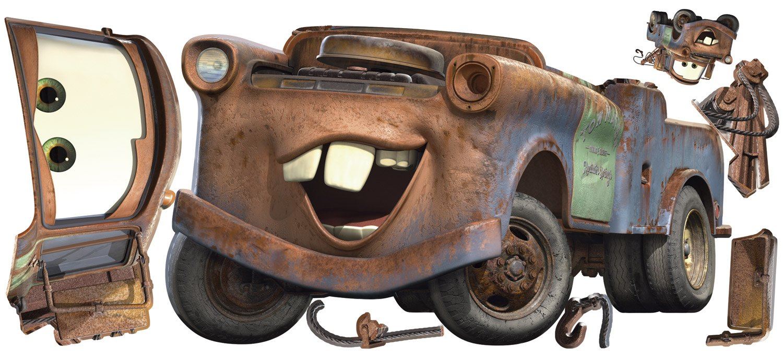 Adesivo murale per bambini cricchetto cars - Cars wandsticker ...