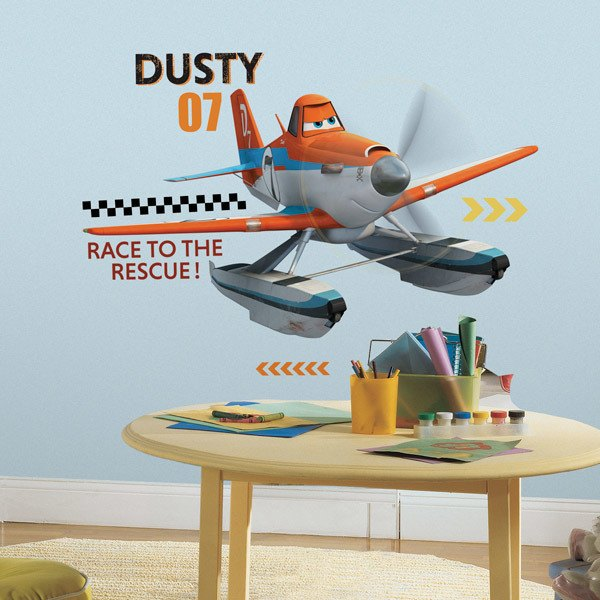Adesivi per Bambini: Dusty and the Rescue Team, Planes