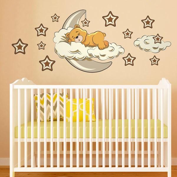 Favori Adesivi Murali Neonati e Bambini 0-4 Anni | StickersMurali.com CF08