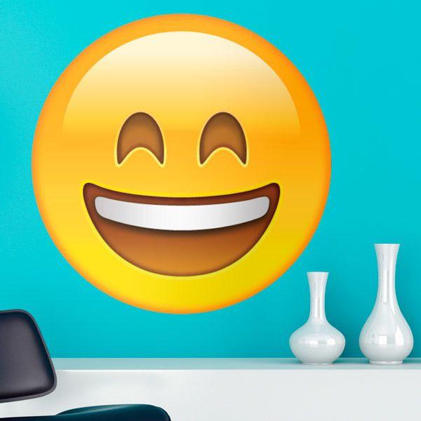 Adesivi Murali Emoticons Emoji