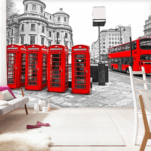 Fotomurali : London in Red