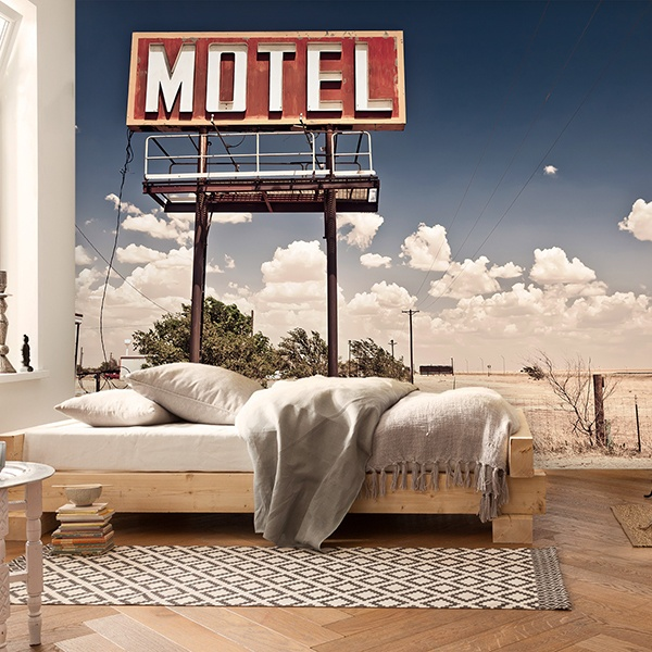 Fotomurali : Motel on Route 66