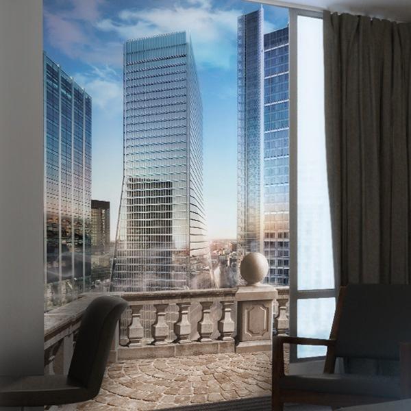 Carta da parati di new york for Immagini grattacieli di new york