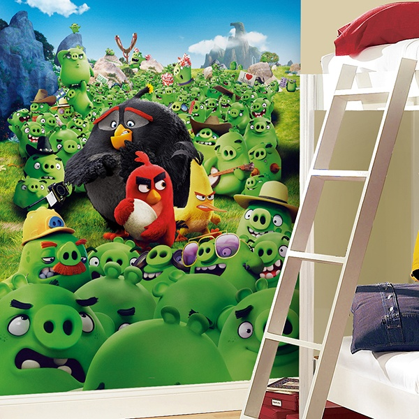 Fotomurali : Angry Birds Montain