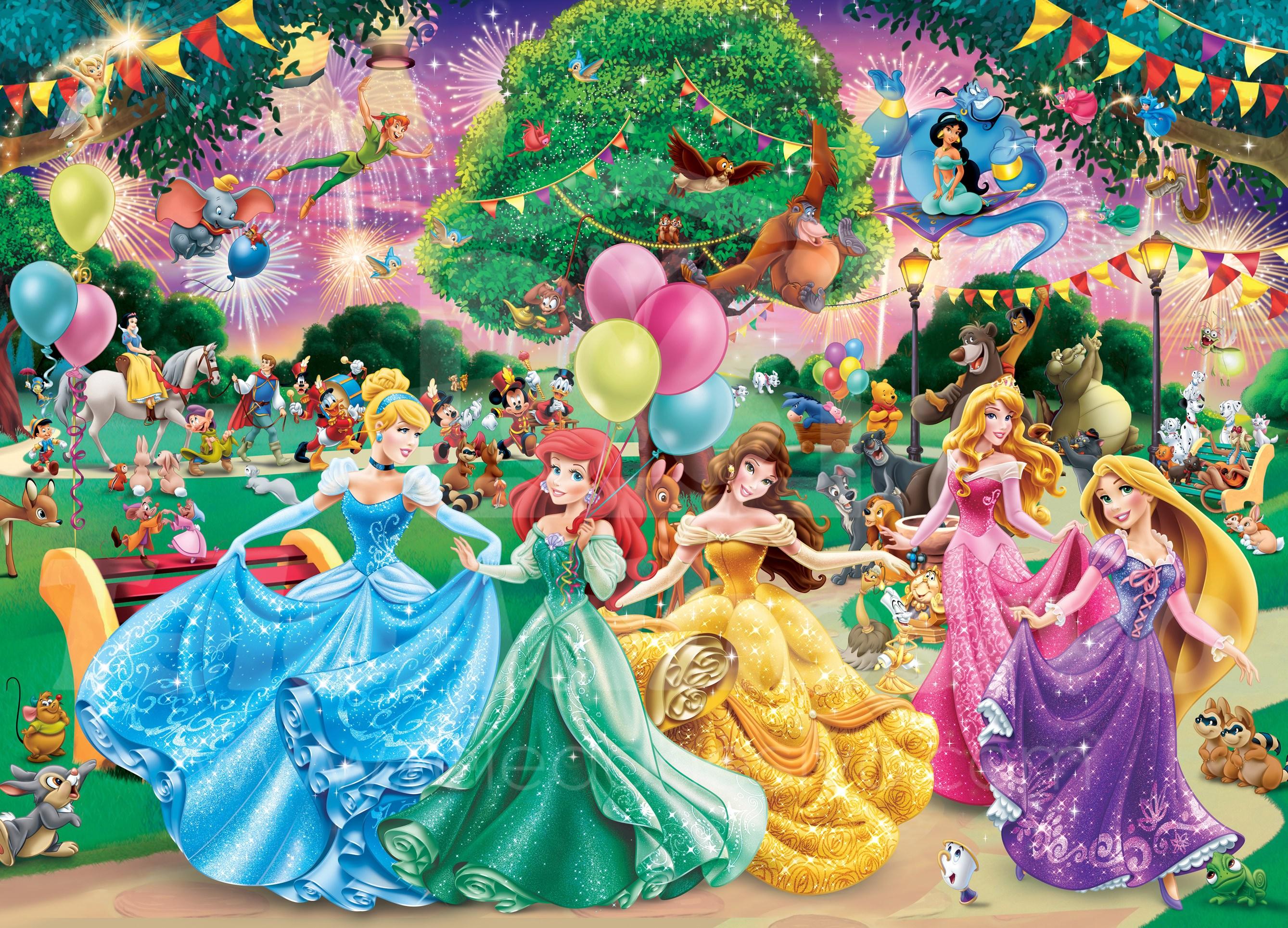 3d Wall Stickers Online Fotomurale Per Bambini Principesse Disney