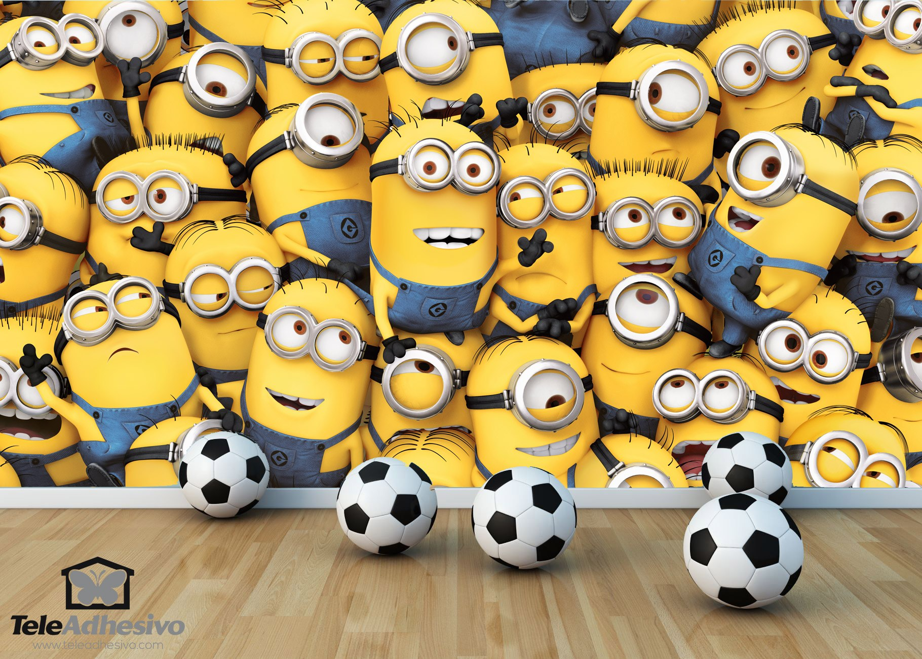 3d Wall Stickers Online Minions