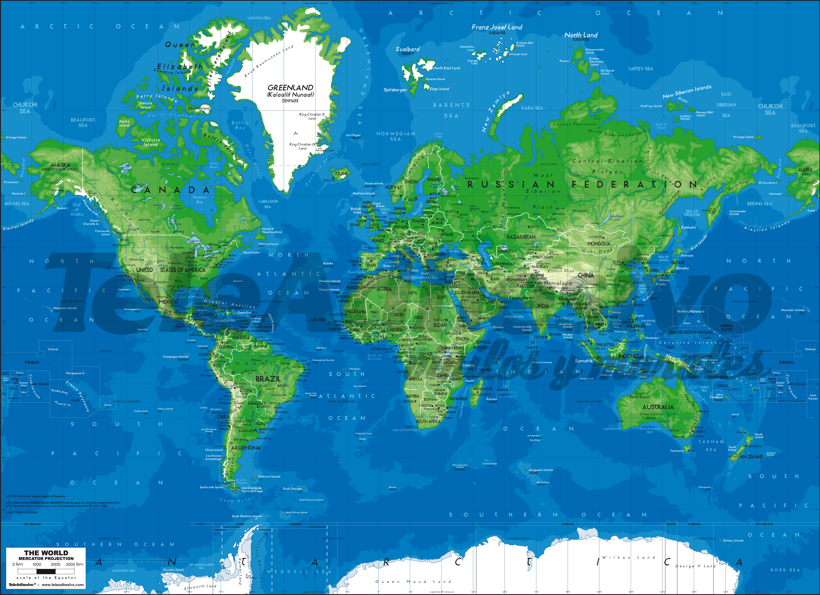 Mappa del mondo 3 - Mappa del mondo contorno ks2 ...