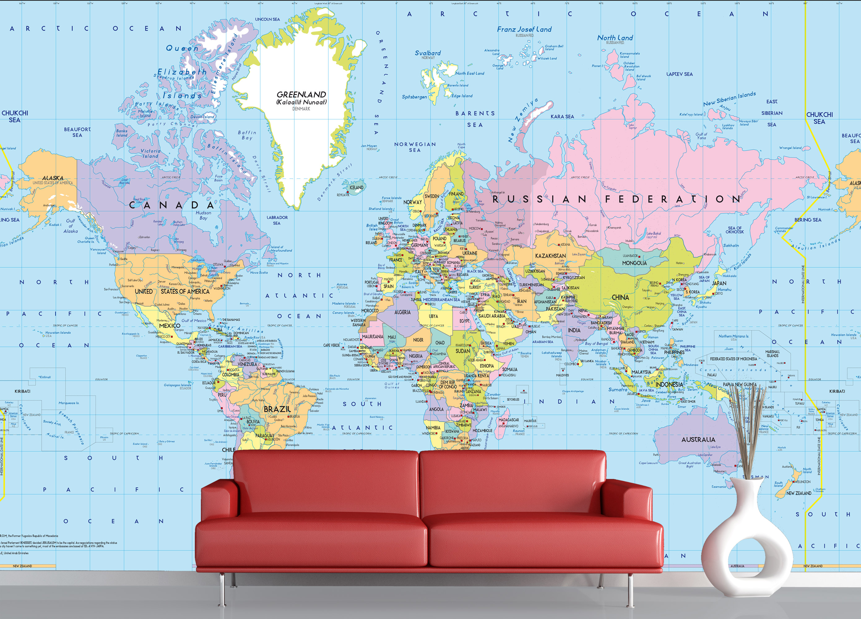 mappa del mondo politici 1. Black Bedroom Furniture Sets. Home Design Ideas