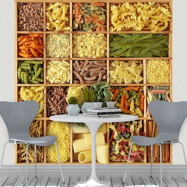 Fotomurali : Collage Pasta italiana