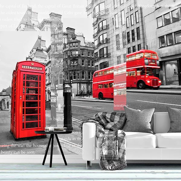Fotomurali : Collage Londra 0