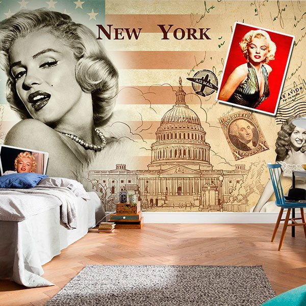 Fotomurali : Collage Marilyn Monroe