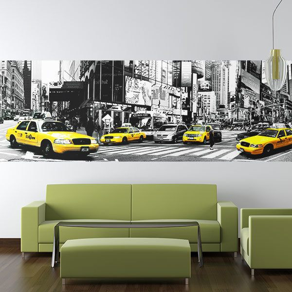 Fotomurali : Taxi a New York