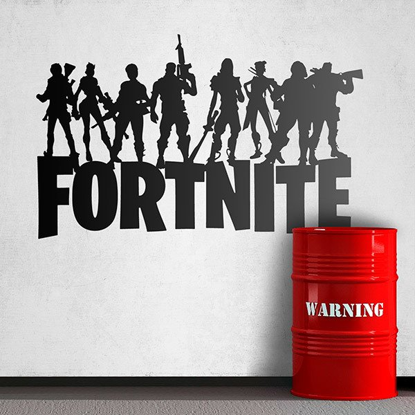Adesivi Murali: Fortnite Battle Royale