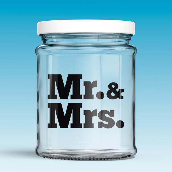 Adesivi Murali: Mr. & Mrs.