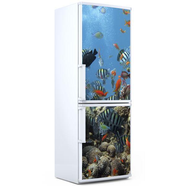 Adesivi murali fondo marino - Fondo rasante per piastrelle murali ...