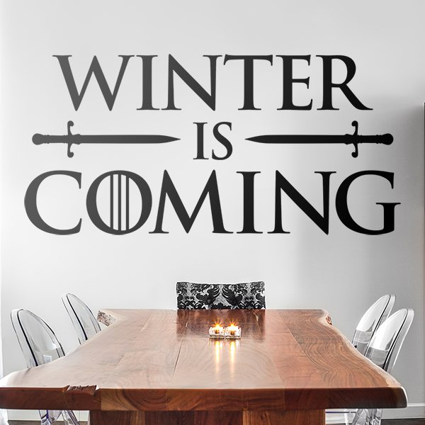 Adesivi Murali: Winter is coming