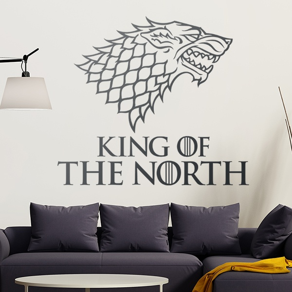 Adesivi Murali: King of the North