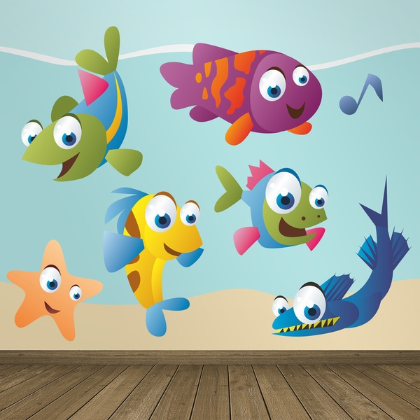 Adesivi Murali Pesce