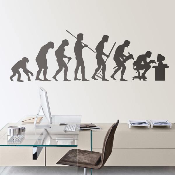 Adesivi murali evolution - Vinilo para la pared ...