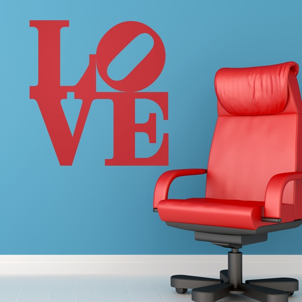 Adesivi Murali: love design 2