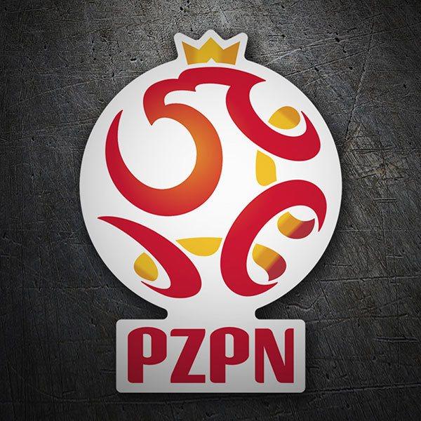 Adesivo polonia calcio shield stickersmurali.com