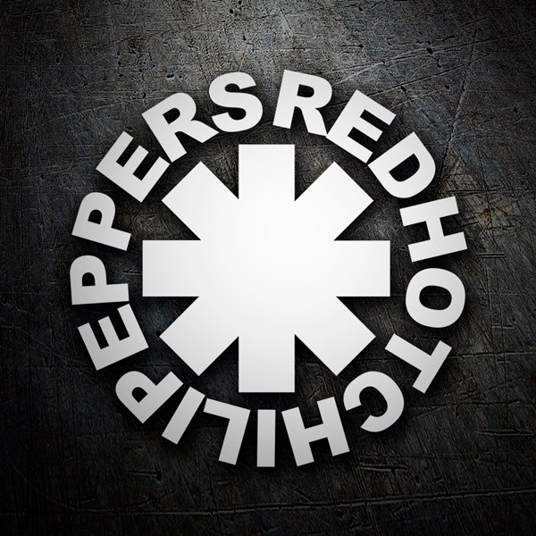 Adesivi per Auto e Moto: Red Hot Chili Peppers