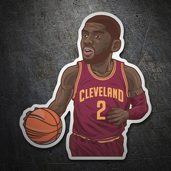 Adesivi per Auto e Moto: NBA - Kyrie Irving All-Star
