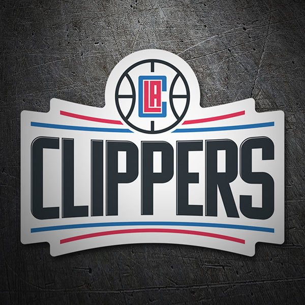 Adesivi per Auto e Moto: NBA - Los Angeles Clippers scudo