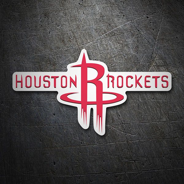 Adesivi per Auto e Moto: NBA - Houston Rockets Scudo