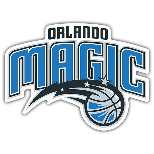 Adesivi per Auto e Moto: NBA - Orlando Magic scudo