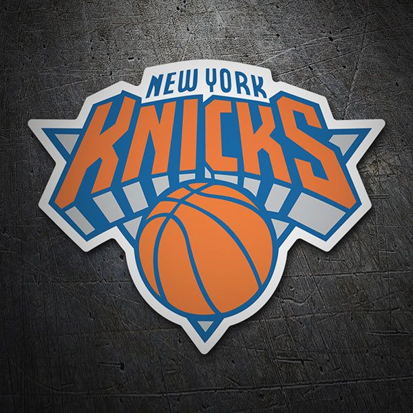 Adesivi per Auto e Moto: NBA - New York Knicks scudo