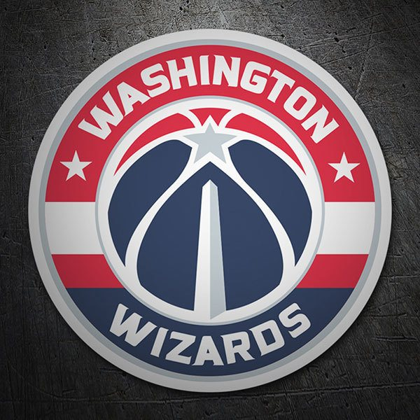 Adesivi per Auto e Moto: NBA - Washington Wizards scudo