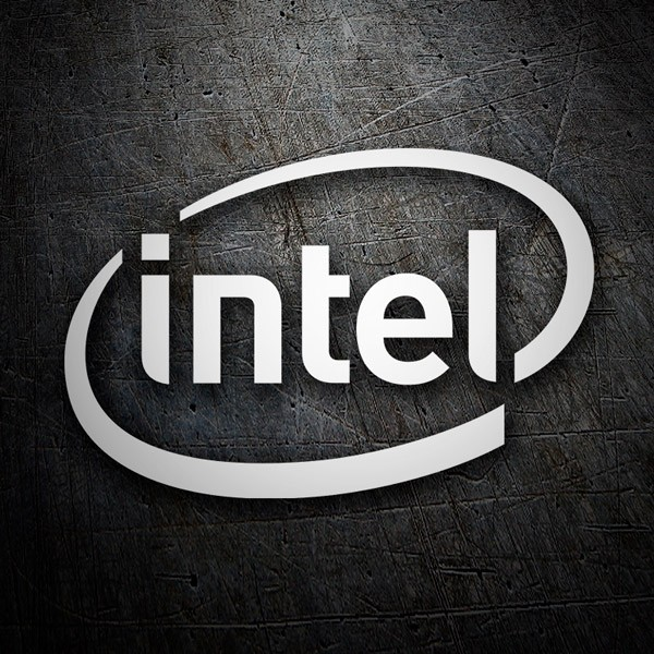 Adesivi per Auto e Moto: Intel Corporation
