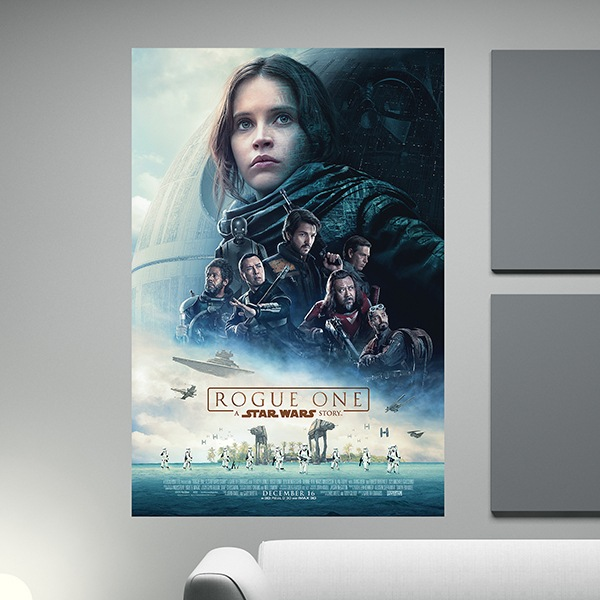 Adesivi Murali: Poster adesivo Star Wars Rogue One 1