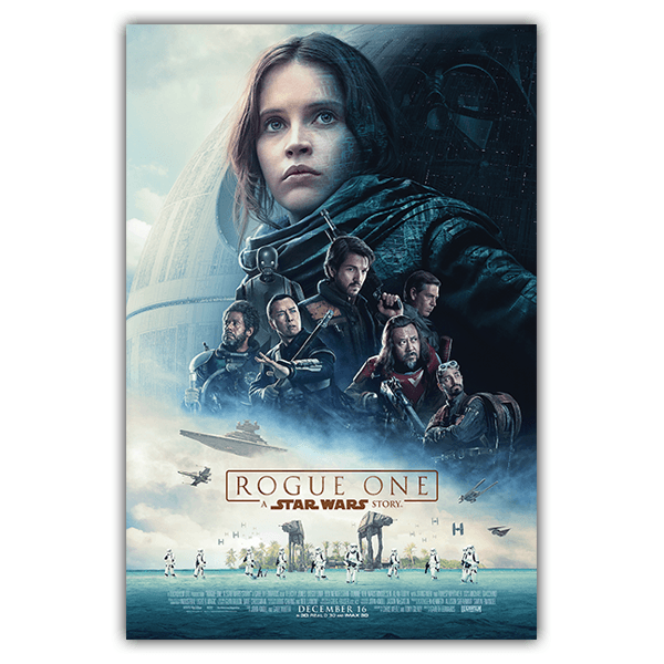 Adesivi Murali: Poster adesivo Star Wars Rogue One 0