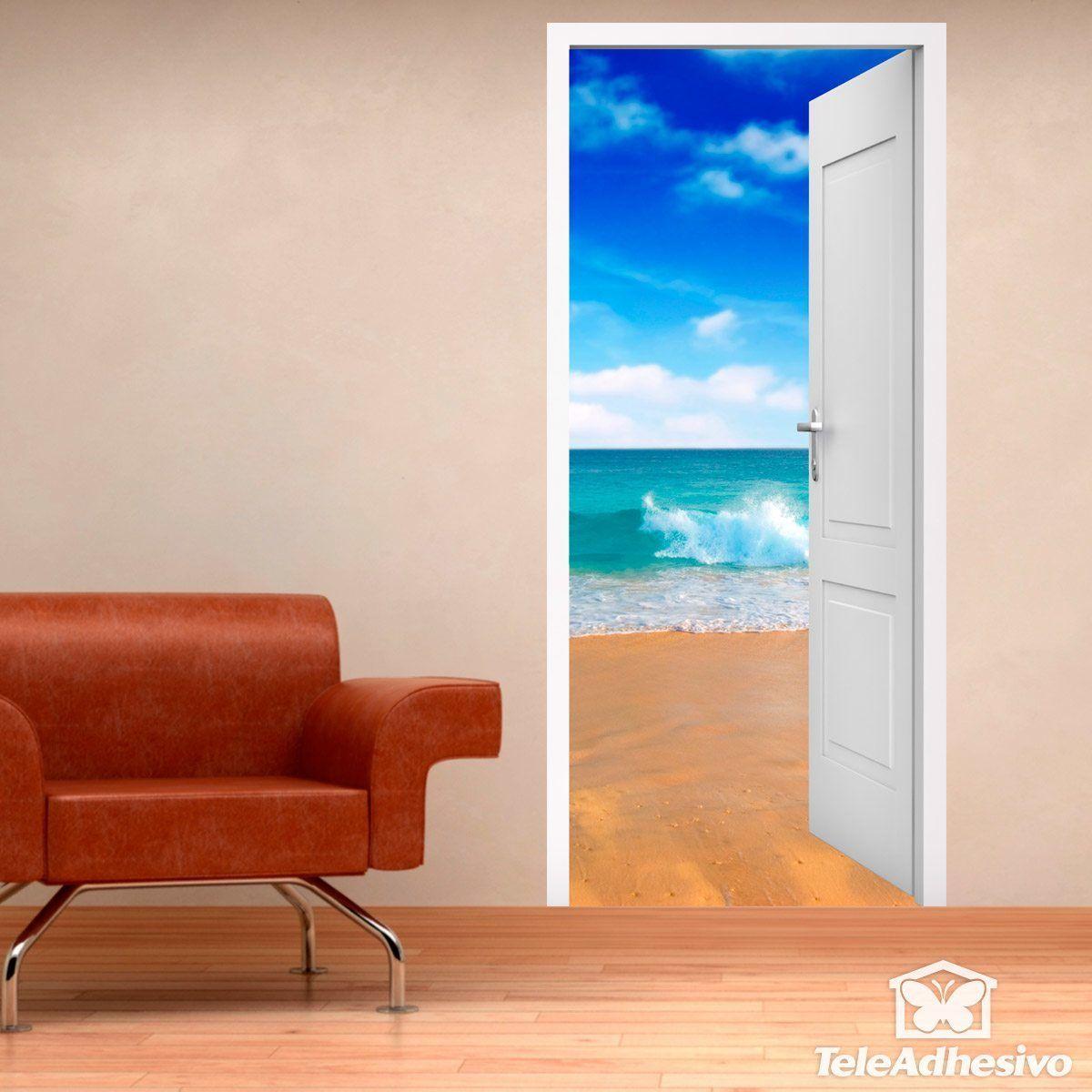 Porta Aperta Spiaggia E Cielo