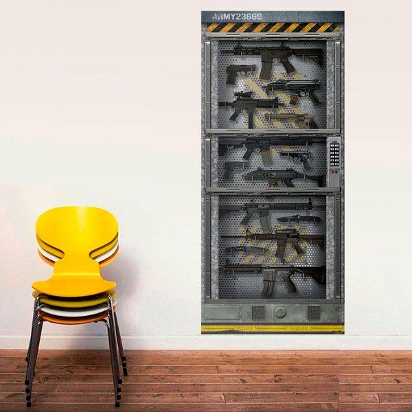 Adesivi per porte - Adesivi decorativi per porte ...