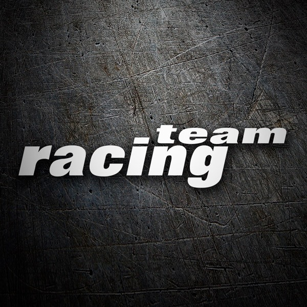 Adesivi per Auto e Moto: Racing Team