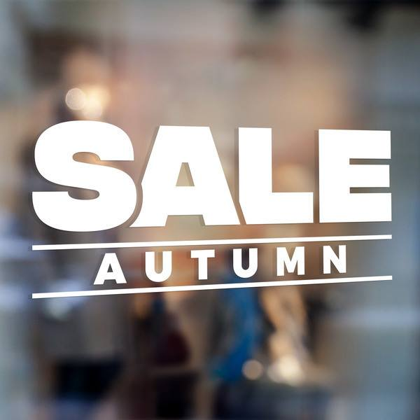 Adesivi Murali: Sale Autumn