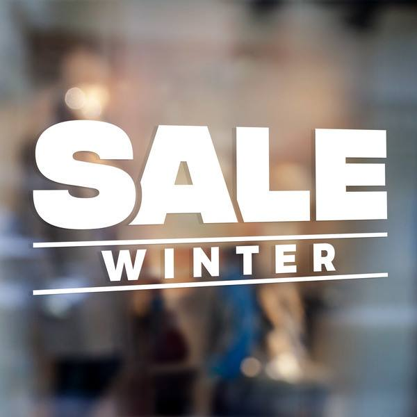 Adesivi Murali: Sale Winter 0