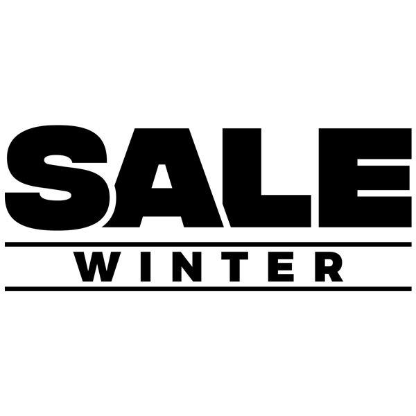 Adesivi Murali: Sale Winter
