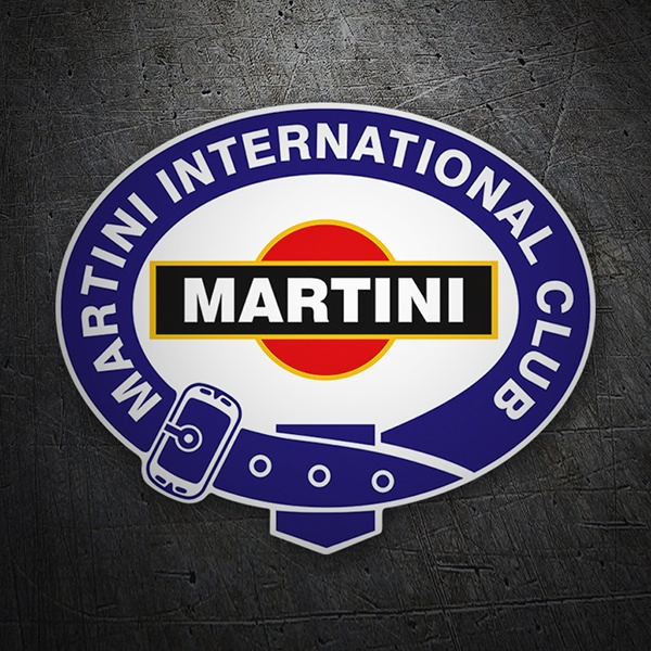 Adesivi per Auto e Moto: Martini international club