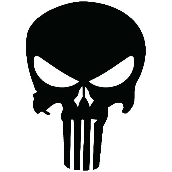 Adesivi per Auto e Moto: The Punisher